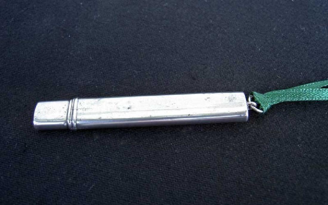 Birmingham Edwardian Sterling Silver Needle Case, 1921