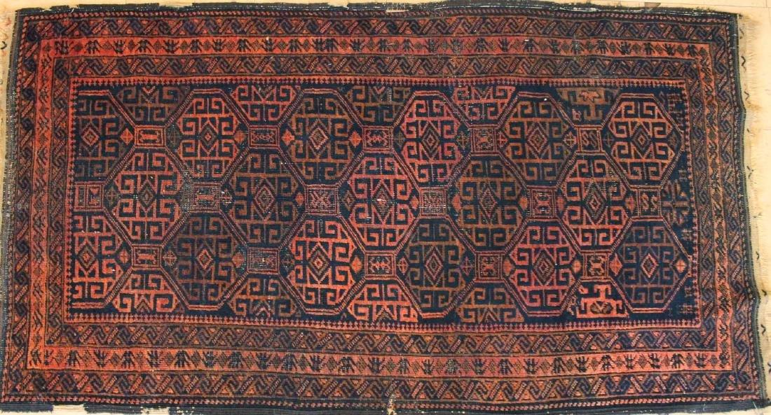 Antique Baluch Rug 3.0x5.7