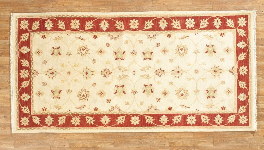 Gallery Size Indo Chobi Rug 4x8