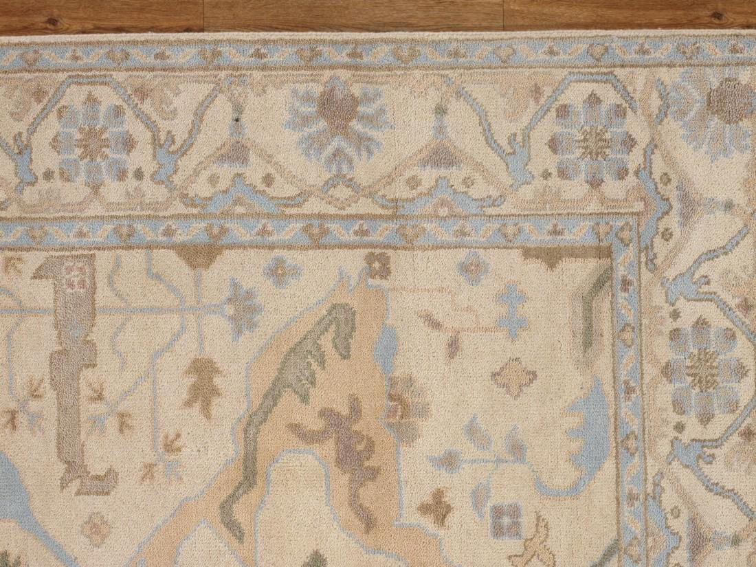Exquisite Oushak Wool Area Rug Made by Hand 6x9 - 6