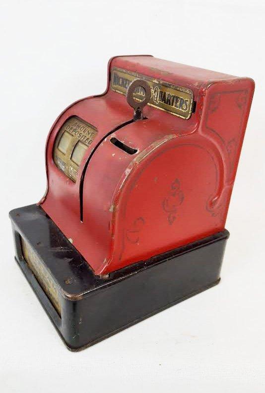 Red Uncle Sam Register Bank. 1930's.