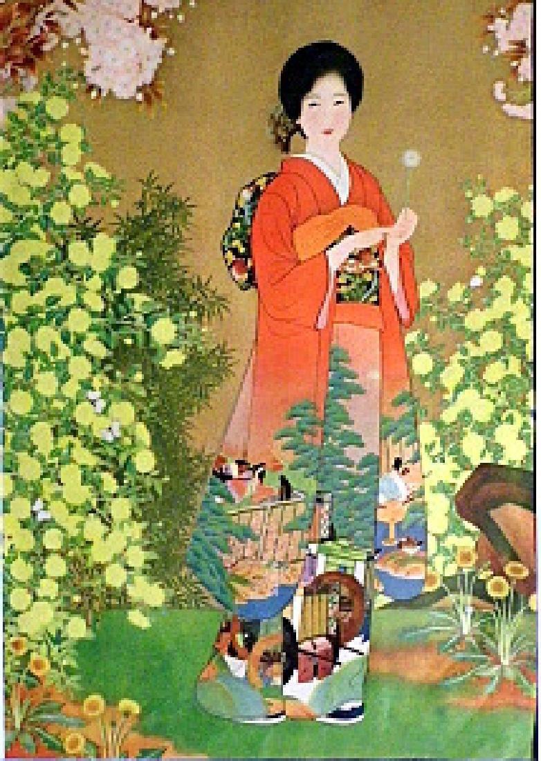 Japanese Print 1930's Kyoto Scrapbook - 6