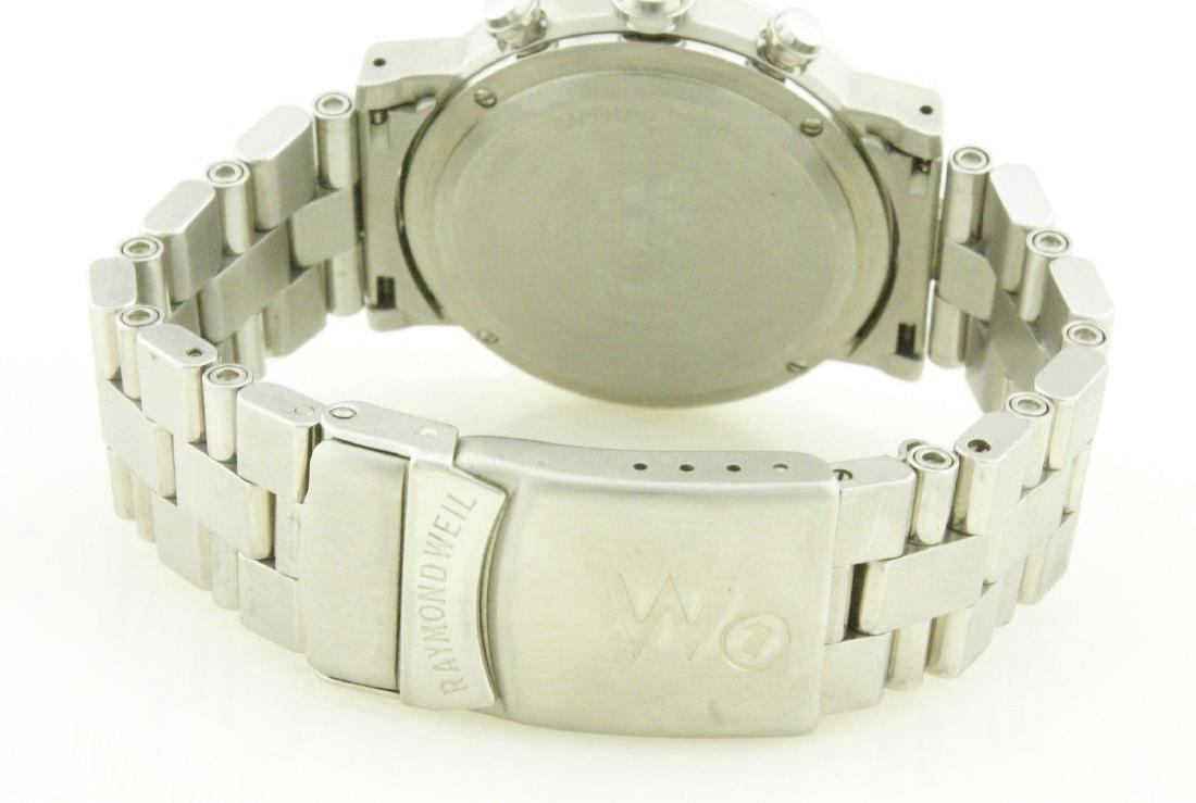 Raymond Weil W1 5000 Tachymetre Chronograph Watch - 8