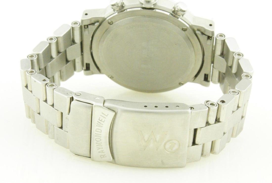 Raymond Weil W1 5000 Tachymetre Chronograph Watch - 4
