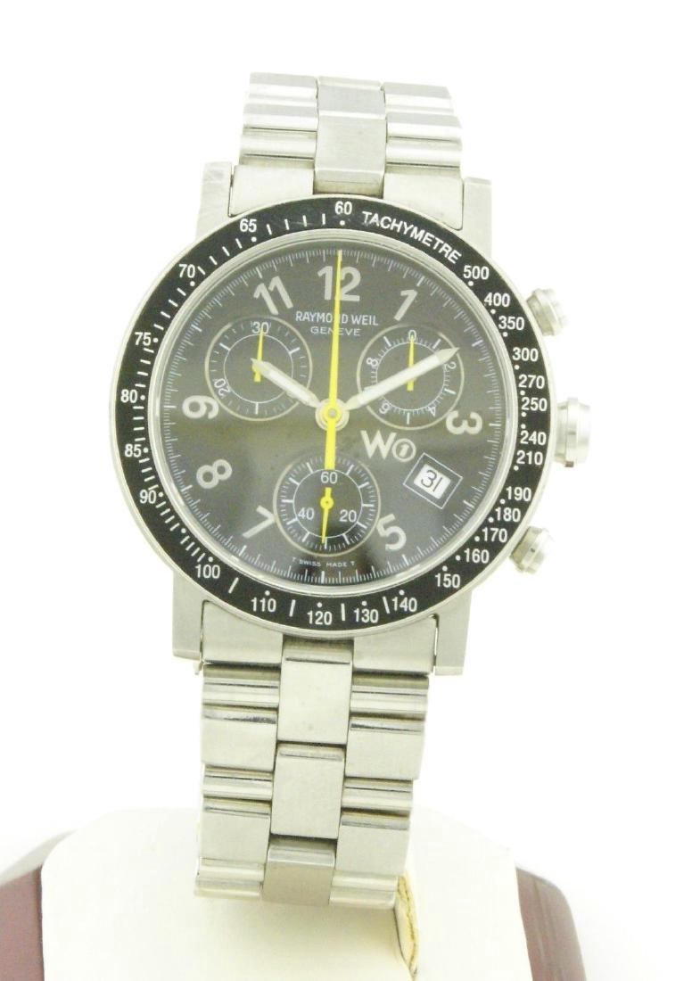 Raymond Weil W1 5000 Tachymetre Chronograph Watch - 5