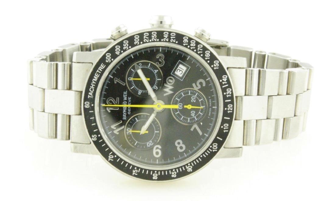 Raymond Weil W1 5000 Tachymetre Chronograph Watch - 7