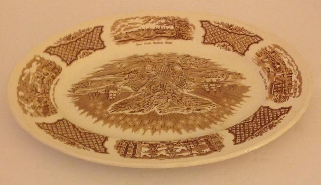 Alfred Meakin Royal Staffordshire England Oval Platter