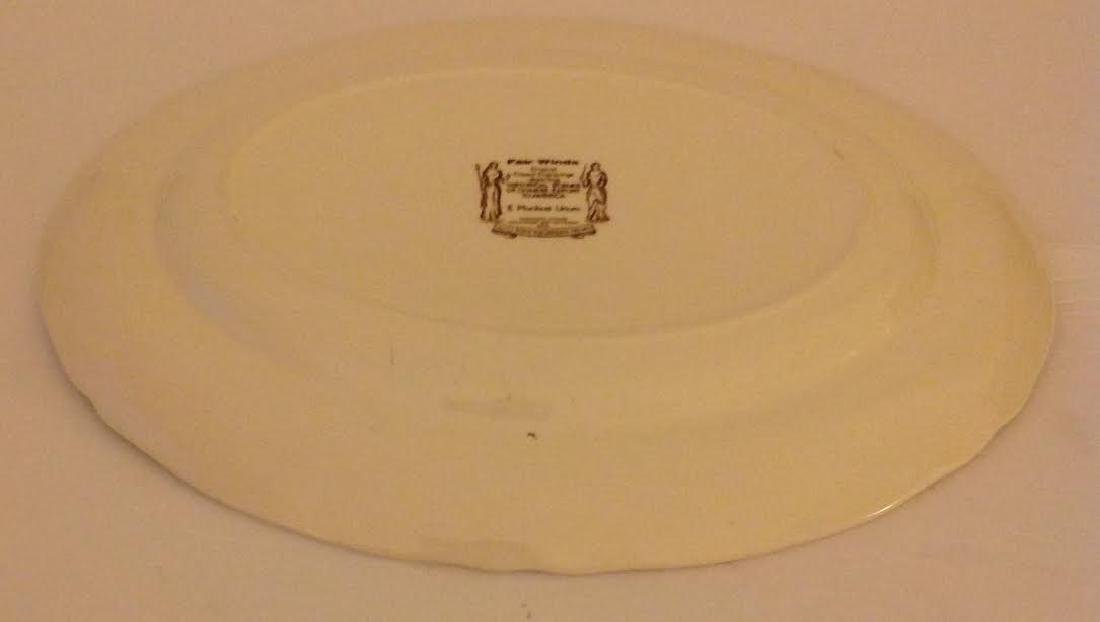 Alfred Meakin Royal Staffordshire England Oval Platter - 4