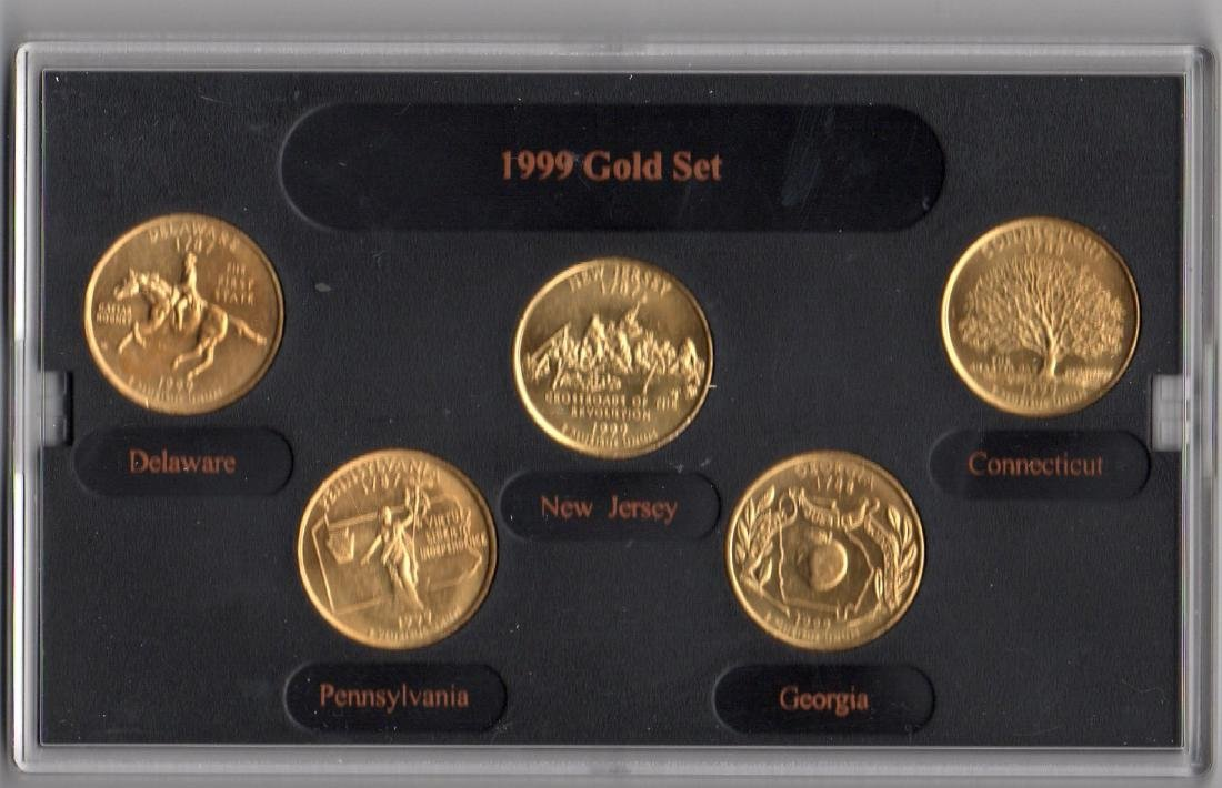 1999 Gold Edition Coin State Quarters Collection