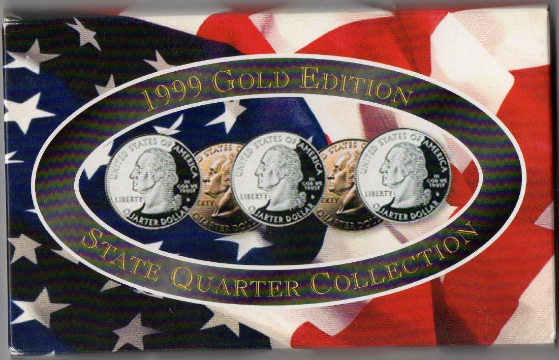 1999 Gold Edition Coin State Quarters Collection - 2