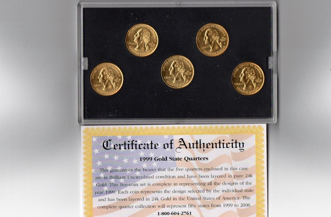 1999 Gold Edition Coin State Quarters Collection - 3