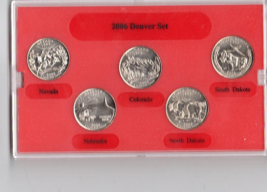 2006 Denver Mint Edition State Quarter Coin Collection