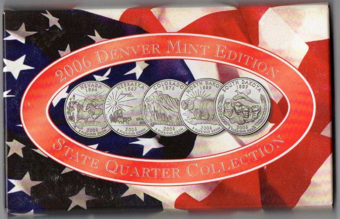 2006 Denver Mint Edition State Quarter Coin Collection - 2
