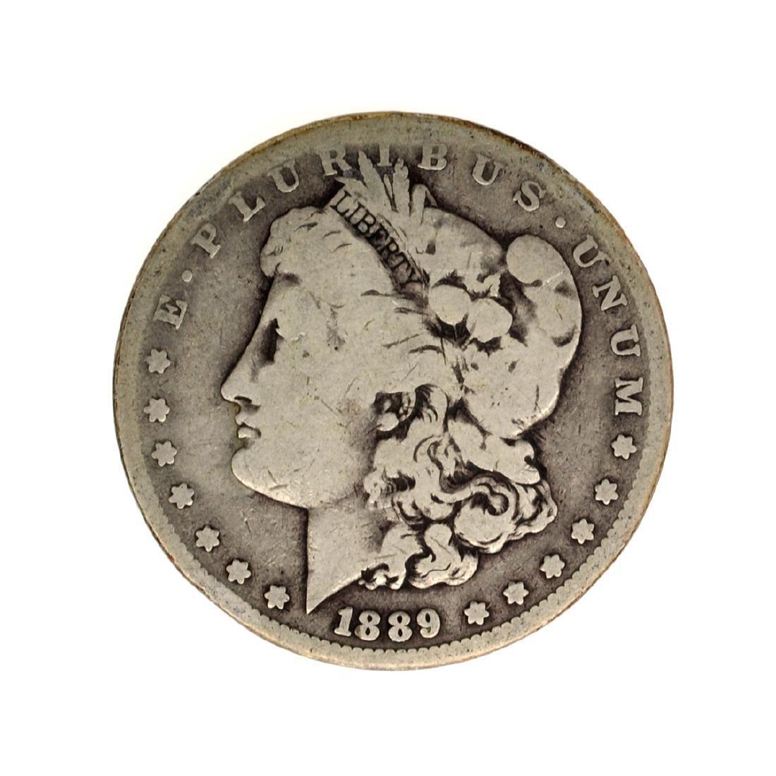 1889-CC Morgan Silver Dollar Coin