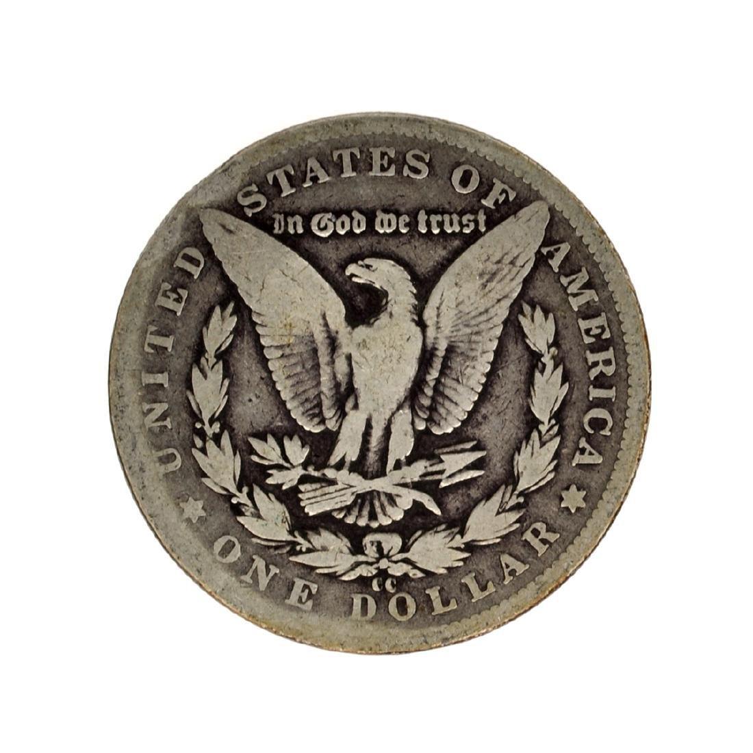 1889-CC Morgan Silver Dollar Coin - 2
