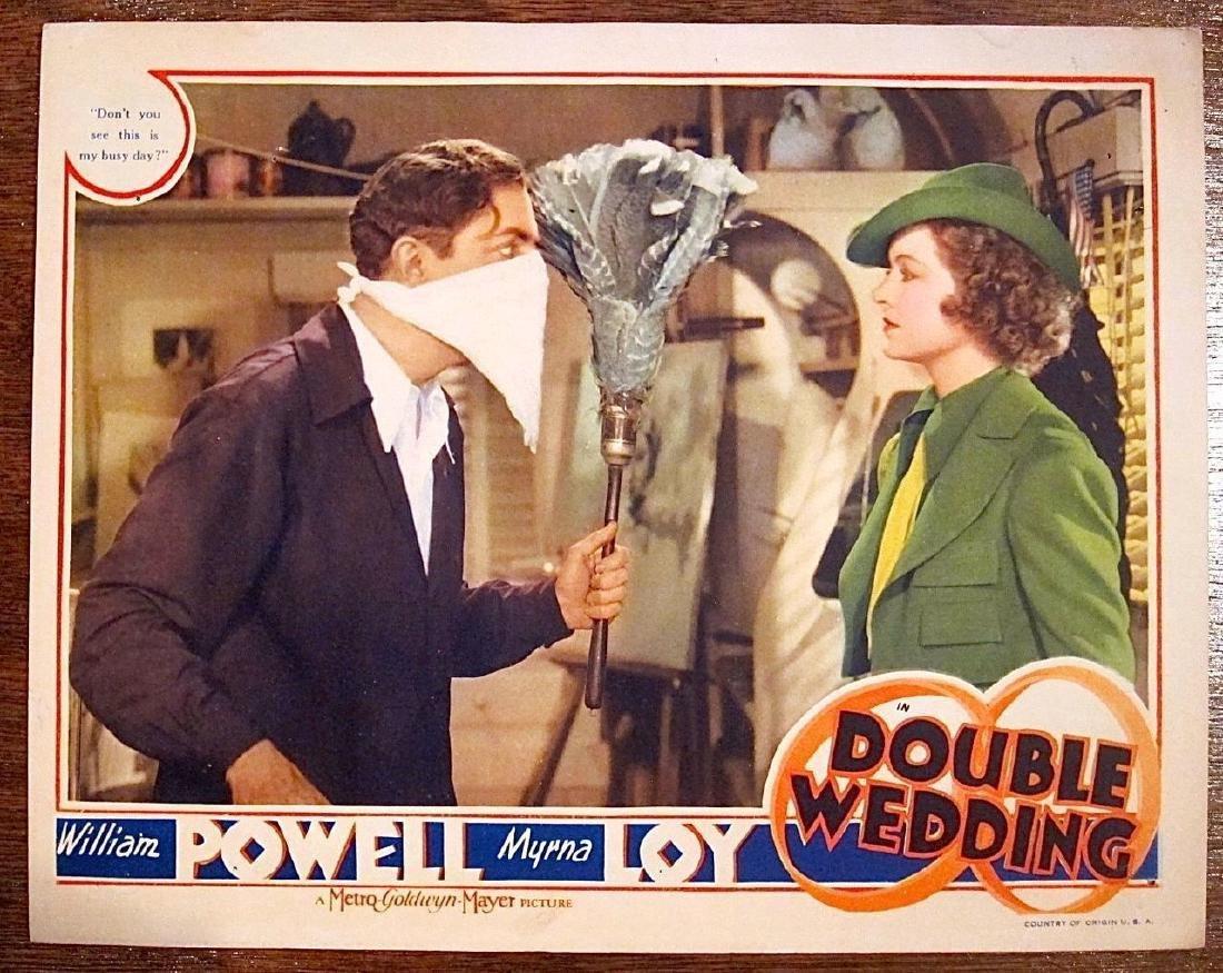 Double Wedding 1937 Lobby Card Poster