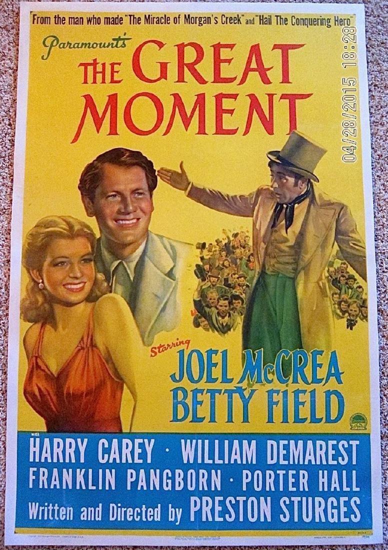 Great Moment 1944 Lb 1 Sh Poster