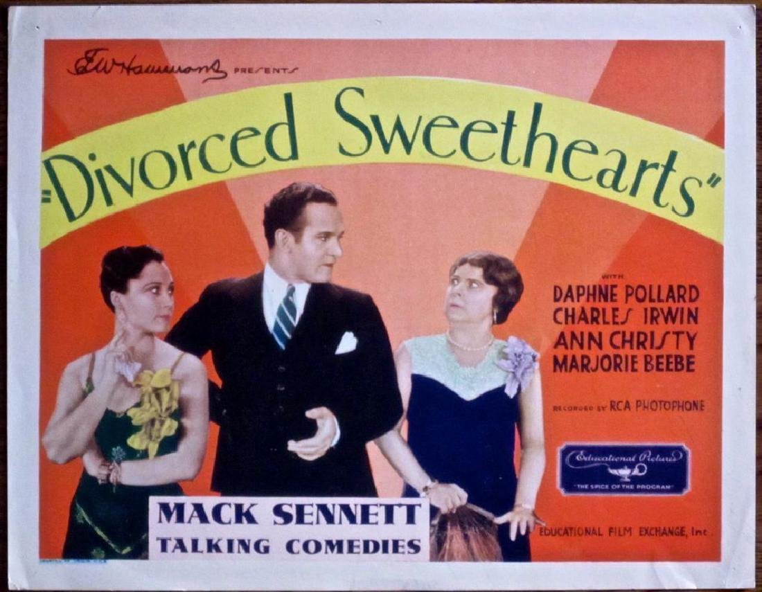 Divorced Sweethearts 1929 Poster