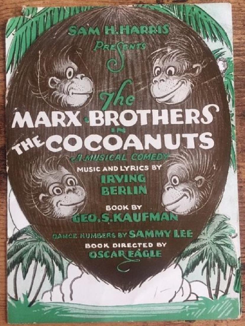 The Cocoanuts Original 1929 Herald Poster