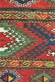 """Shahsavan Sumak Mafrash Kilim Wool Panel Rug 1'3""""x1'8"""""""