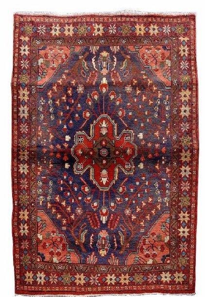 Persian Mahal Handmade Rug 4'7''x7'0''