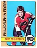 1972 Topps Gary Dornhoefer Philadelphia Flyers