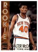 1996 Walter McCarty New York Knicks Rookie Card