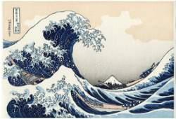 Hokusai Katsushika The Great Wave