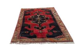 Persian Hamadan Enjilas Handmade Rug 45x73