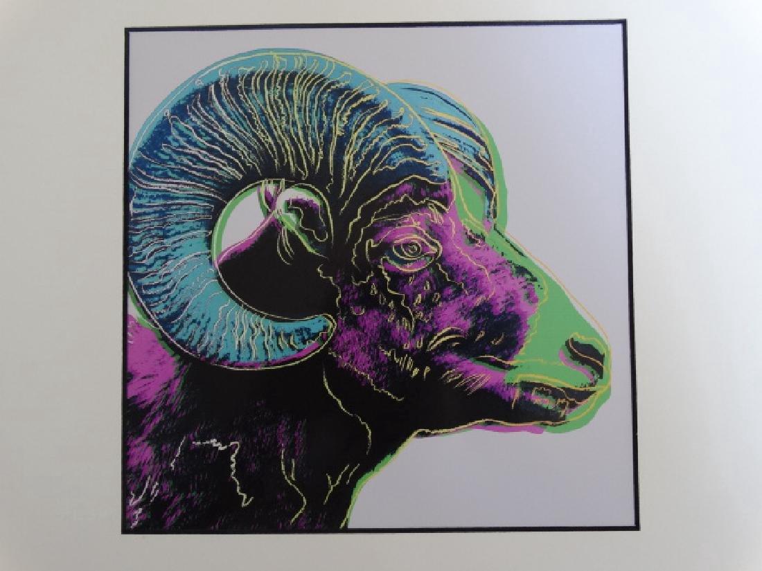 Andy Warhol: Bighorn Ram