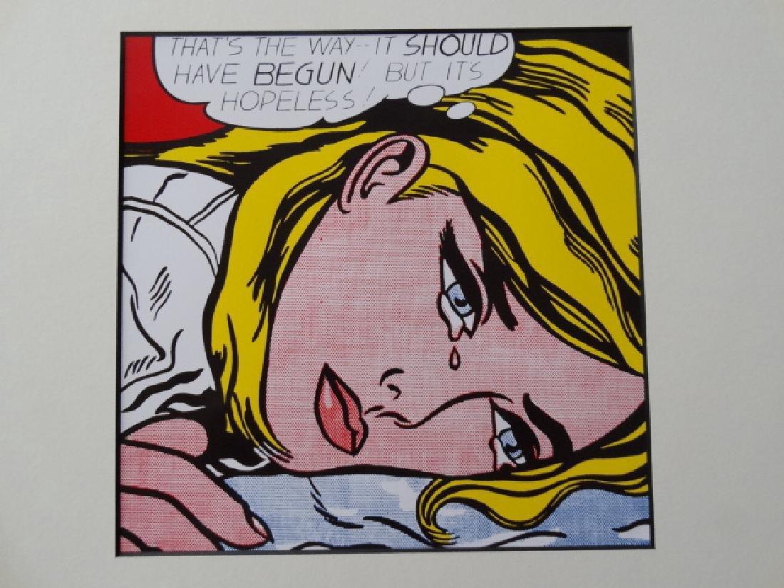 Roy Lichtenstein: Hopeless