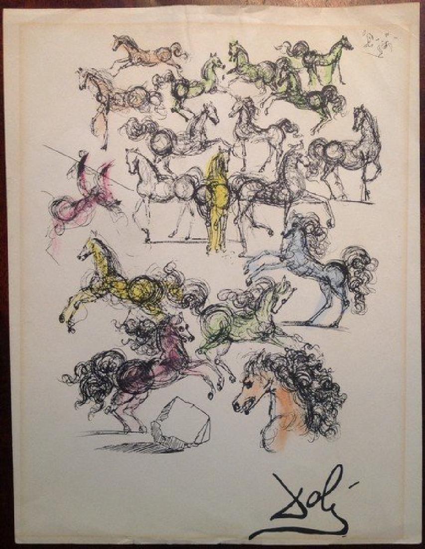 Salvador Dali: Horses