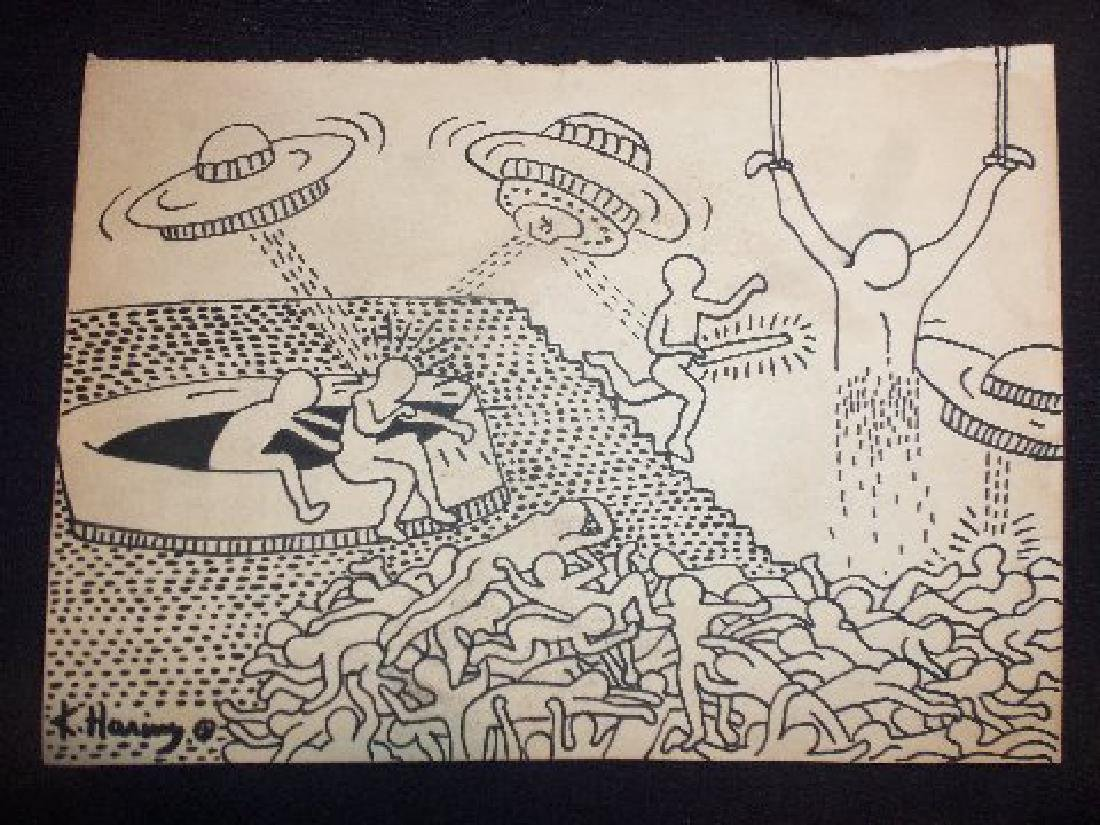 Keith Haring: Space Ships