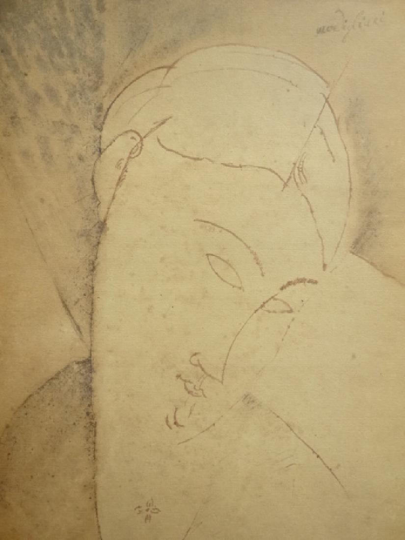 Amedeo Modigliani: Lithograph