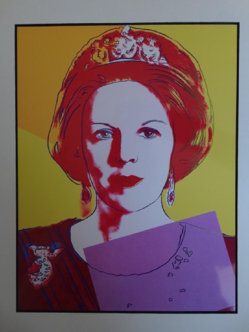 Andy Warhol: Reina Beatriz