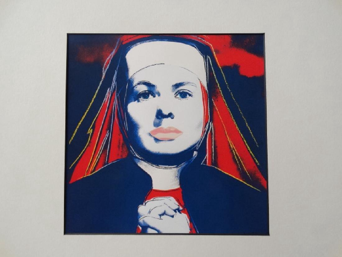 Andy Warhol: Ingrid Bergman