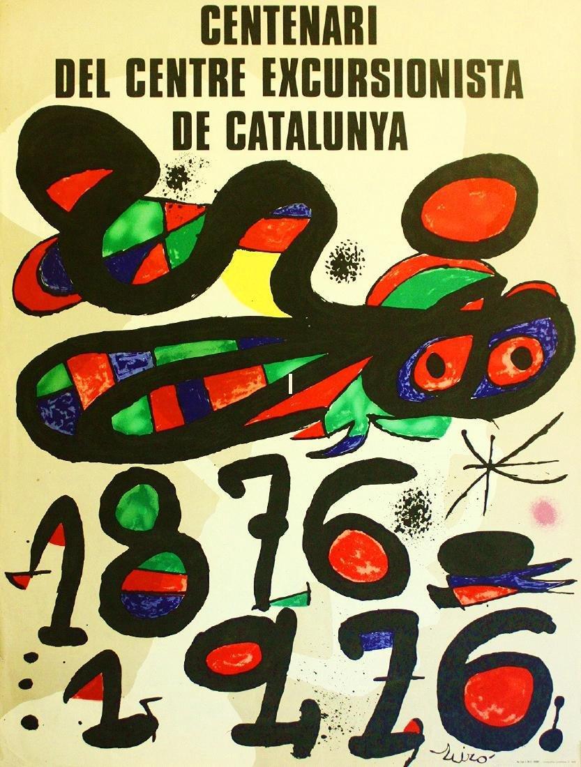 Joan Miró: Centenari del Centre Excursionista de