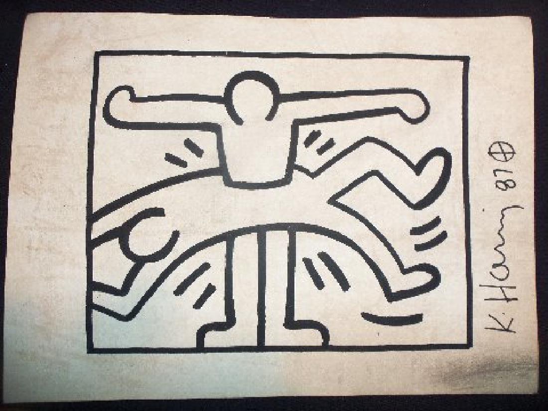 Keith Haring: Interlocking Men