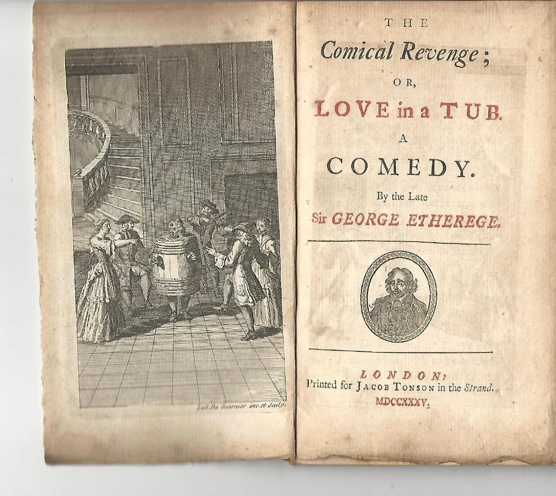 1735 The Comical Revenge of Love in a Tub, G.Etherege
