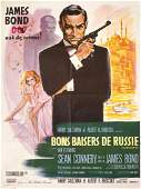 From Russia With Love R 1970s French Grande Poster