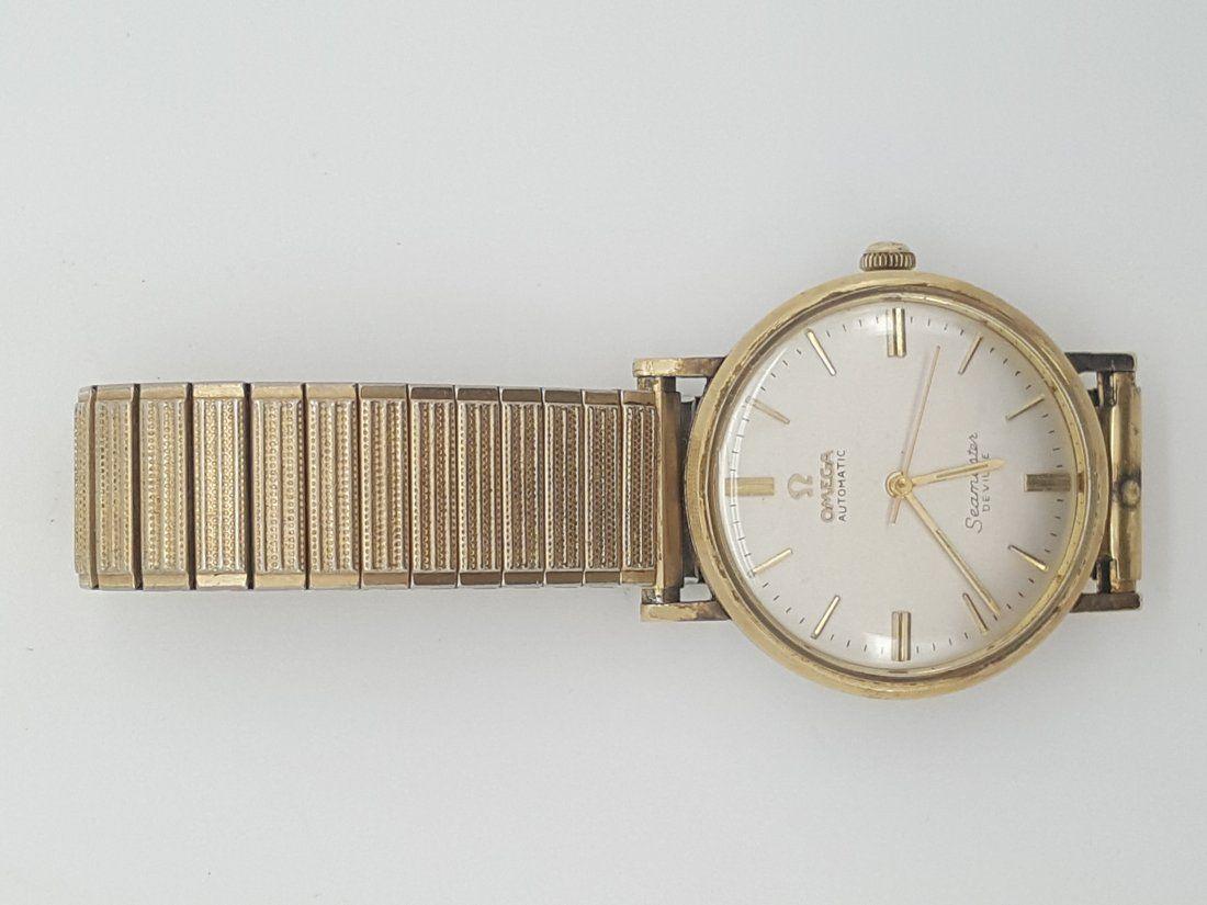 Vintage Omega Seamaster De Ville 14k Gold Filled Watch