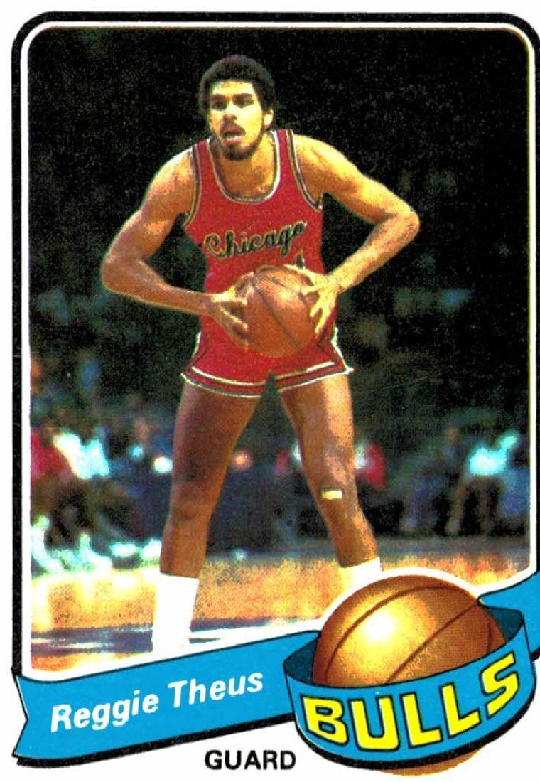 1979 Topps Reggie Theus Rookie Chicago Bulls