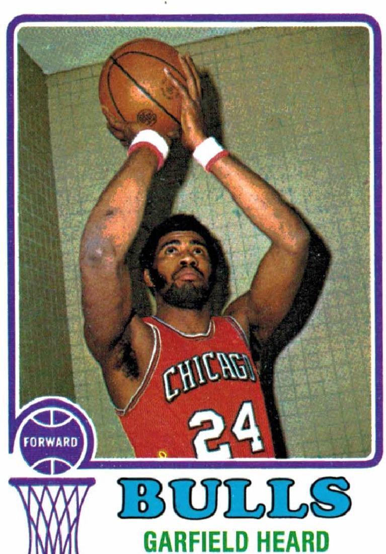1973 Topps Garfield Heard Chicago Bulls