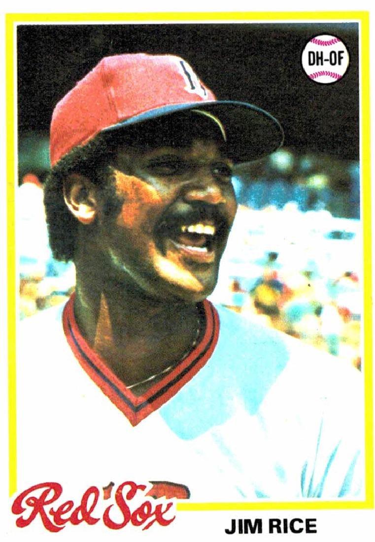 1978 Topps Jim Rice Boston Red Soxs