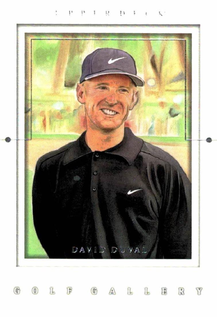 2001 Upper Deck David Duval Golf Gallery
