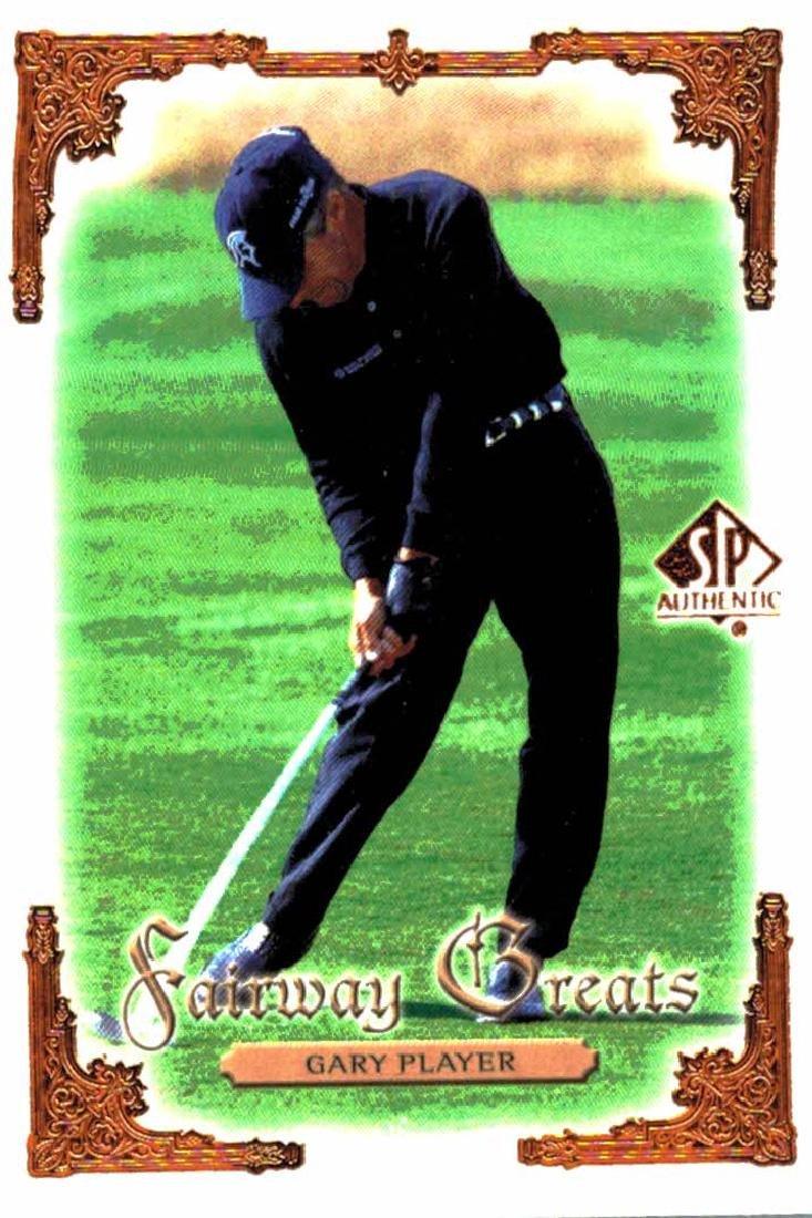 2001 Upper Deck Gary Player Fairway Greats
