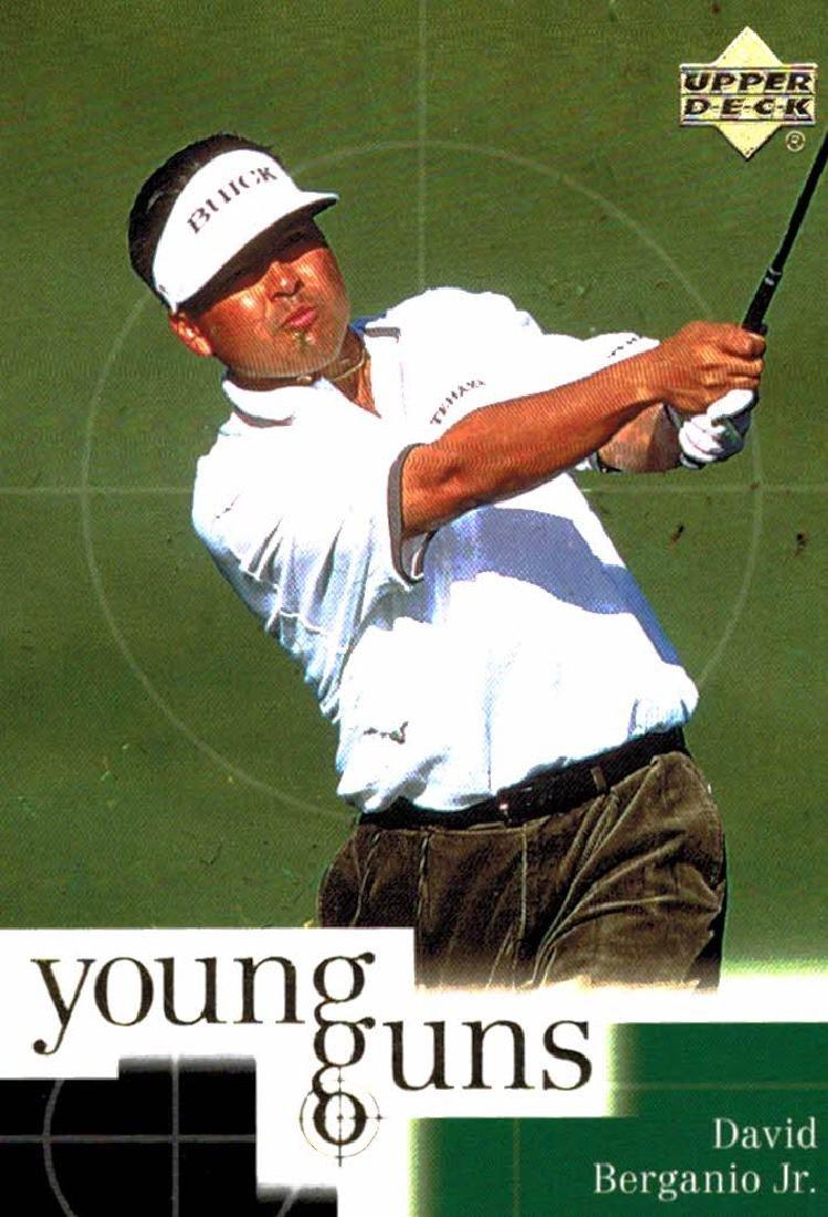 2001 Upper Deck David Berganio Jr Young Guns