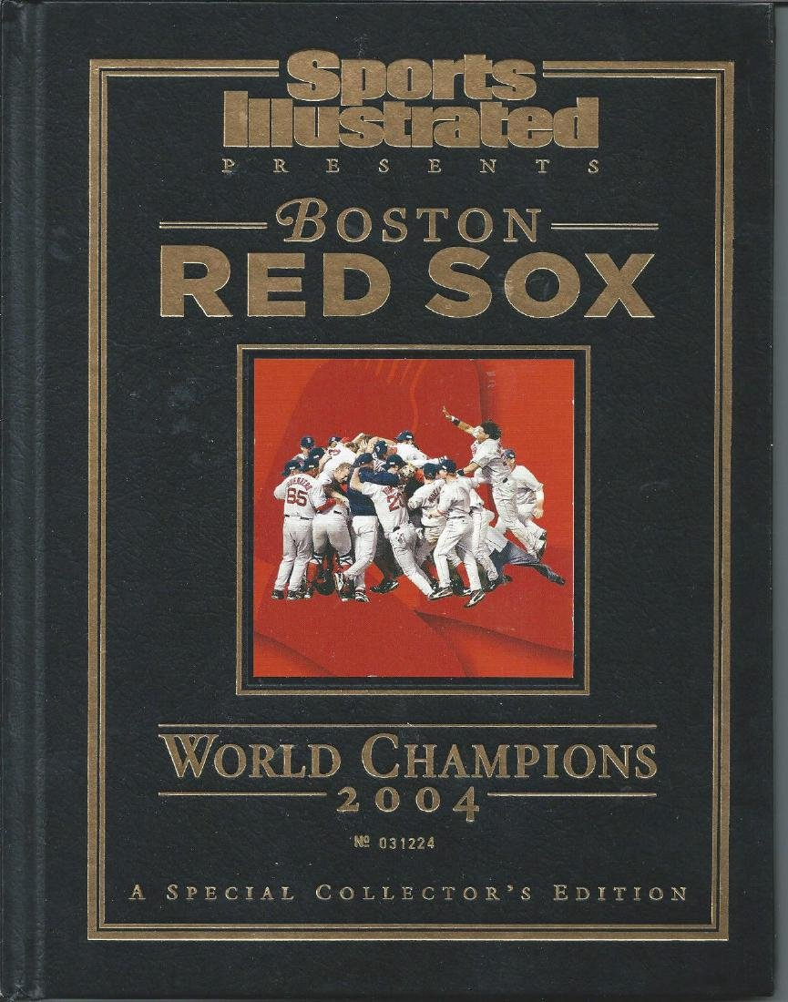 2004 World Series Champions Red Sox Sports Illustrated