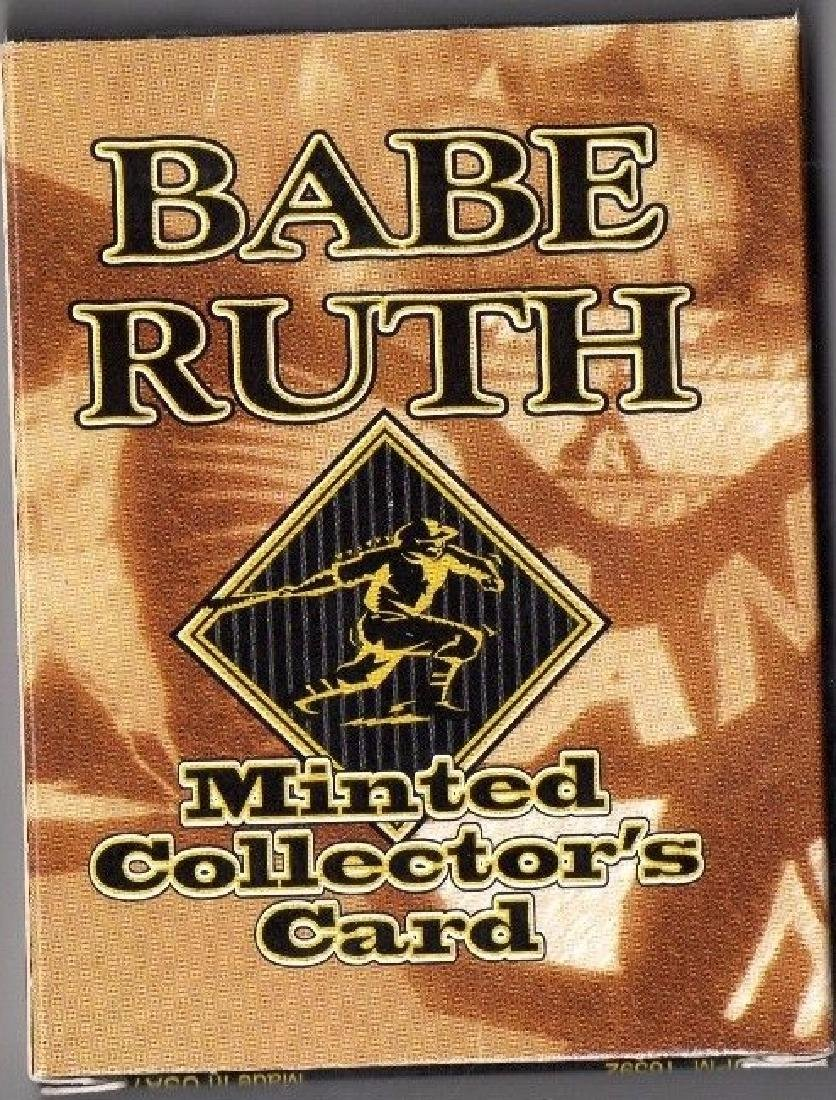 1997 Babe Ruth 22KT Minted Collector's Card SEALED