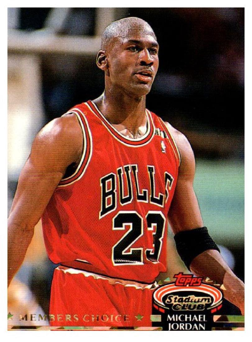 1993 Topps Stadium Club Michael Jordan Members Only